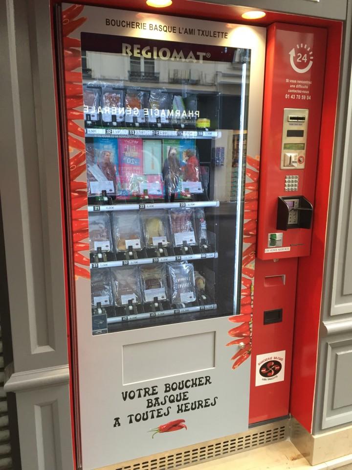 BOUCHERIE BASQUE - NOUVEAU: Distributeur automatique de viande